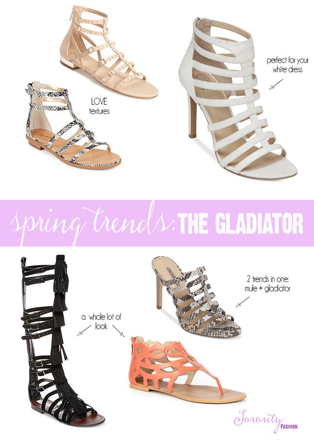 gladiator shoes