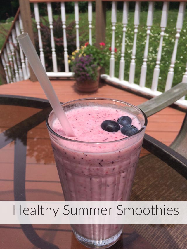 summer smoothies, vitamins, minerals, berries, health