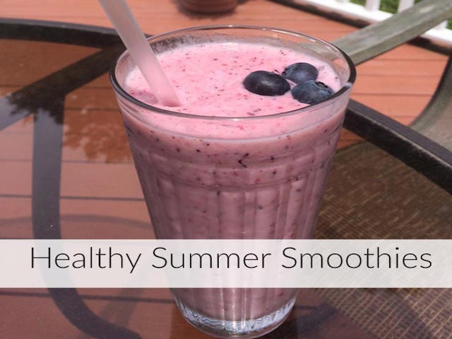 3 HEALTHY AND DELICIOUS SMOOTHIES