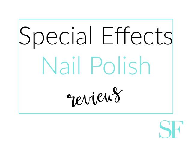 Special Effects Nail Polish Reviews